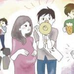 【男性編】夫が職場での妊娠報告の仕方とタイミング★オリジナルイラストアップ