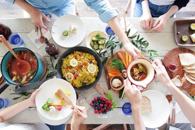 バランスの取れた食事で健康的な食生活