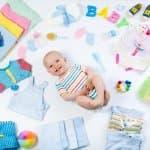 成長に合わせて選ぶ!新生児からのベビー服・子供服サイズ一覧表