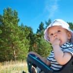 灼熱(しゃくねつ)の夏!赤ちゃんのお散歩で気を付けること