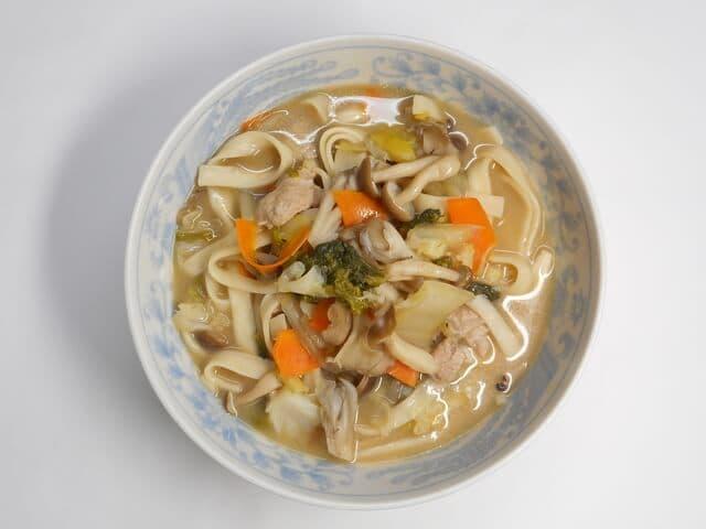 みそ豆乳スープ