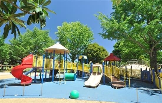昭和記念公園の遊び場