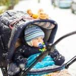 極寒の冬!赤ちゃんのお散歩で気をつけること