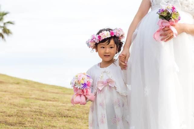 マタニティ結婚式と子ども