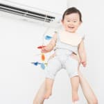 暑すぎたり寒すぎたりは危険!赤ちゃんが快適な部屋の温度は何度?