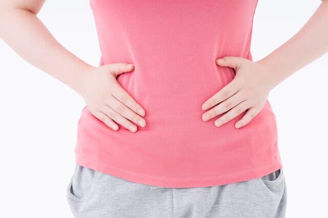 女性下腹部