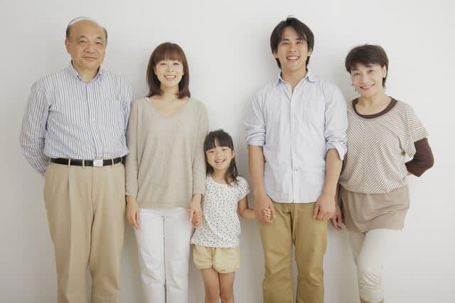 家族の身長