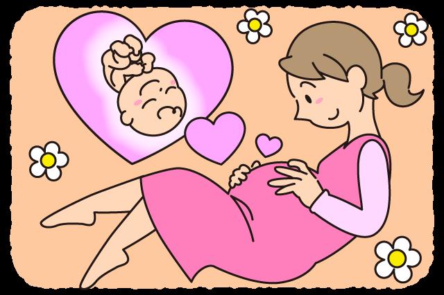 赤ちゃんを思う母