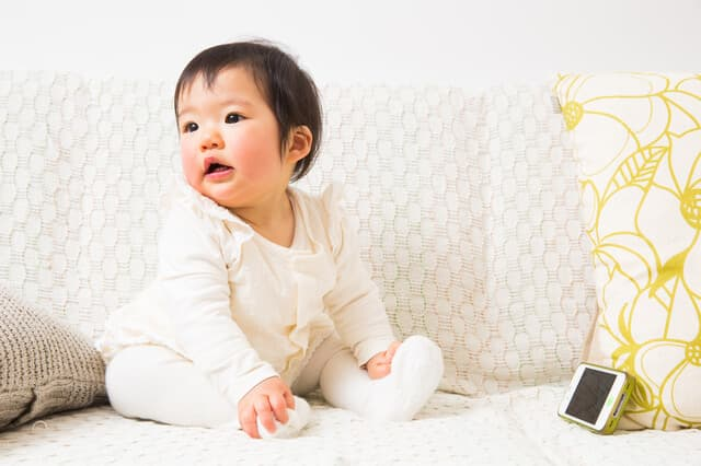 スマホと赤ちゃん