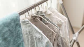 部屋中、洗濯物だらけにならないために!真冬でも室内干しが乾く方法は?