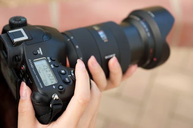 デジタル一眼レフカメラで撮る