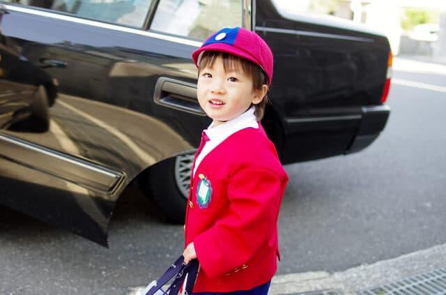 タクシーと幼稚園児
