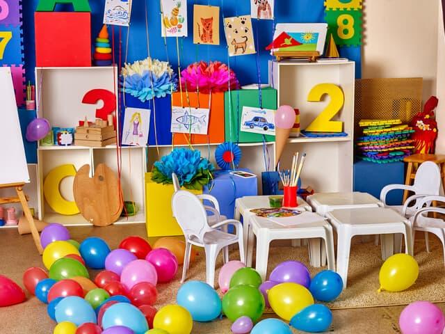幼稚園のインテリア