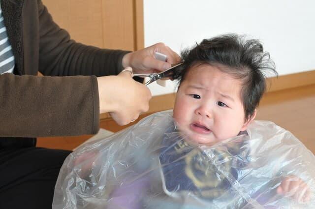 赤ちゃんの髪