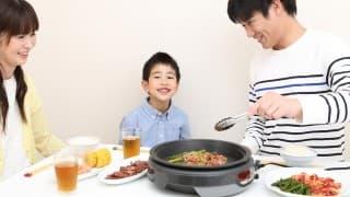 【レシピつき】家族でワイワイ! ママは楽チン! ホットプレートで簡単晩ごはん
