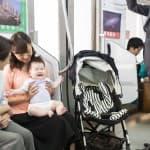 電車で赤ちゃんが泣き止まない時にできる6つの対策法