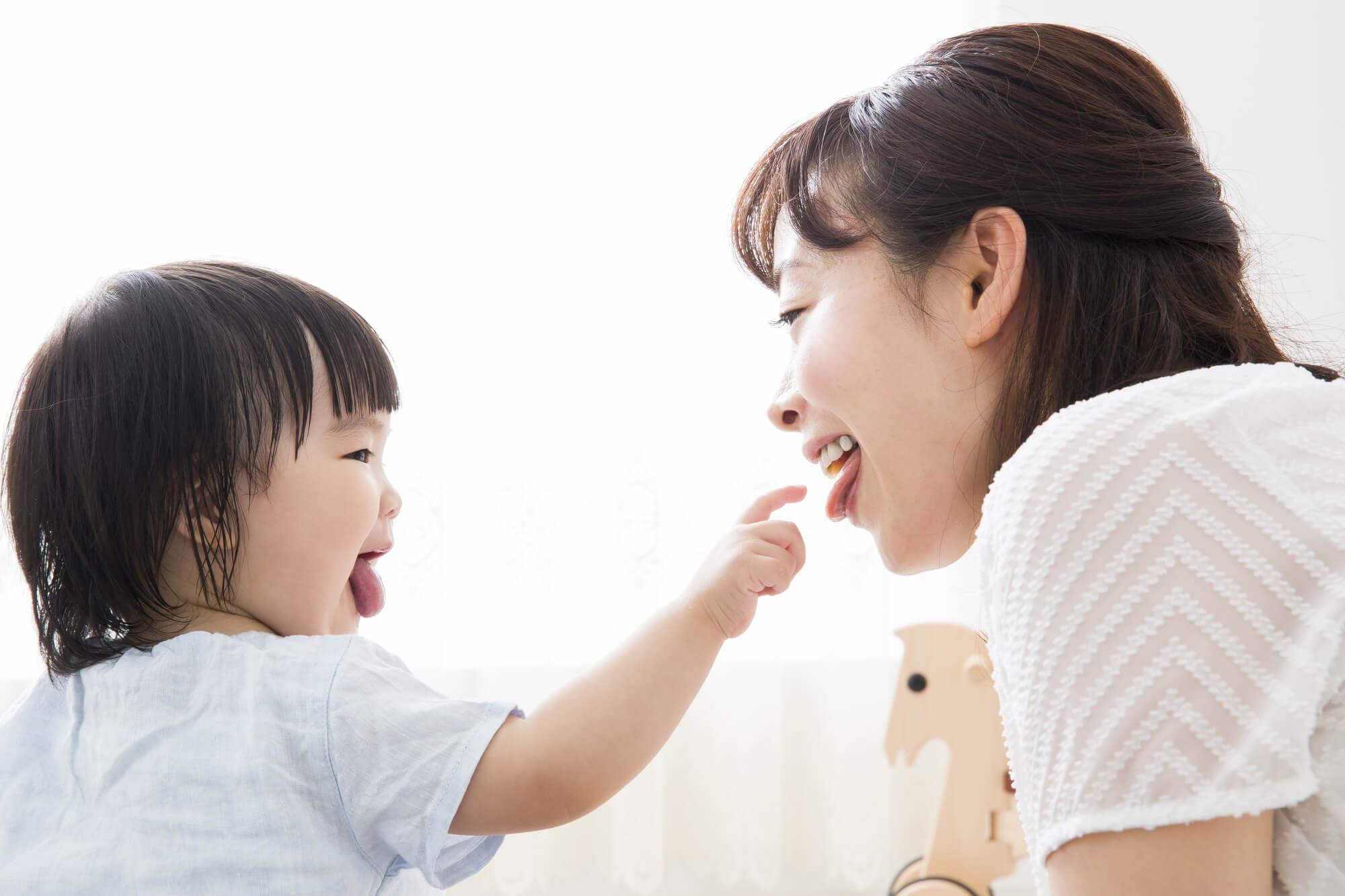 お母さんと赤ちゃんのコミュニケーション