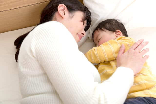 産後の睡眠不足