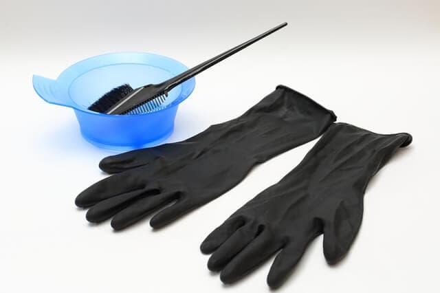 ヘアカラーの道具