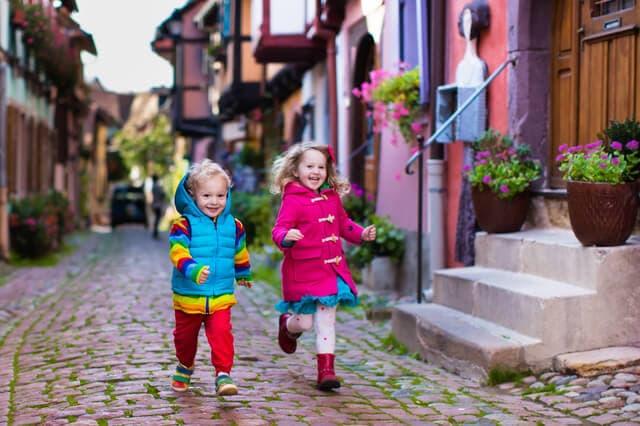 フランスの子ども