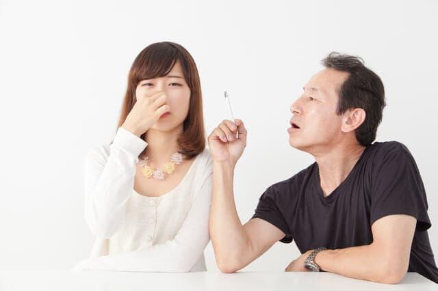 タバコの臭いを臭がる妊婦さん