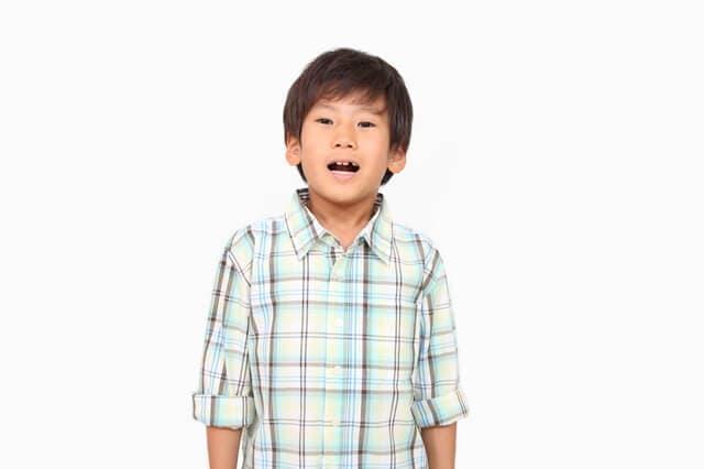 8歳の男の子