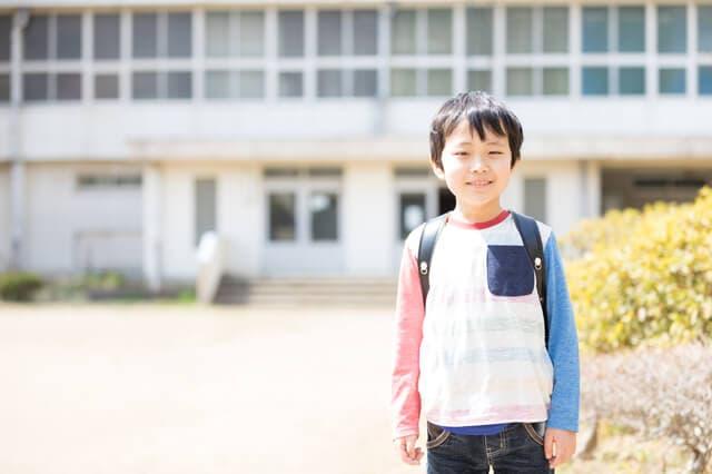 小学生の男の子