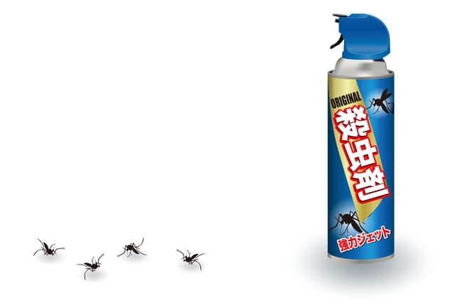蚊の殺虫剤