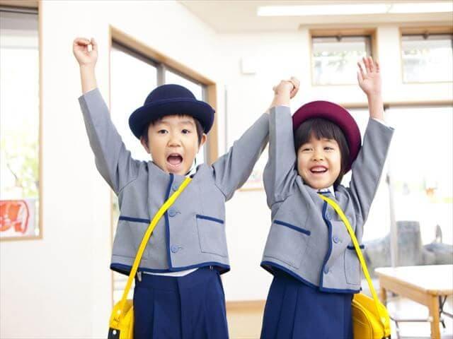 幼稚園に通う子どもたち