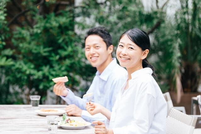夫婦で外食