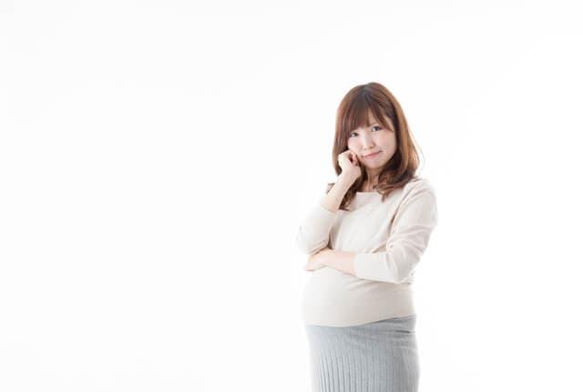 臨月の妊婦