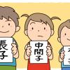 生まれた順でこんなに違う!長子、中間子、末っ子のそれぞれの性格