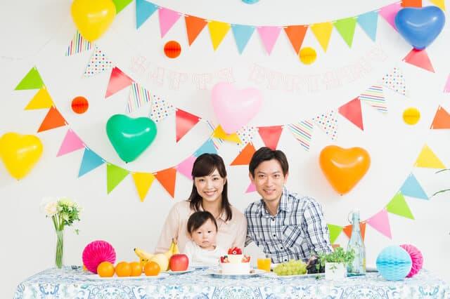 1歳の誕生日会