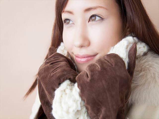暖かい服装
