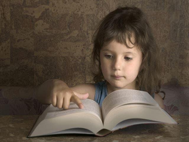本が好きな子ども