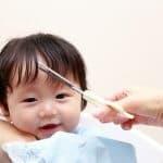 まだ美容院では切れない、赤ちゃんの髪の毛の切り方を教えます!