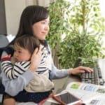 在宅勤務での子育ては本当にメリットだらけなのか?