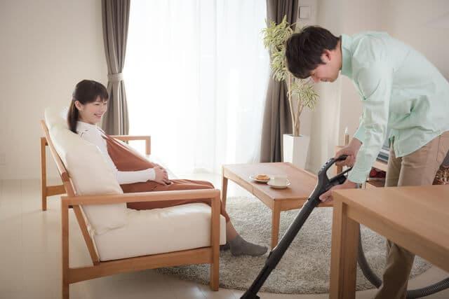 夫の家事協力