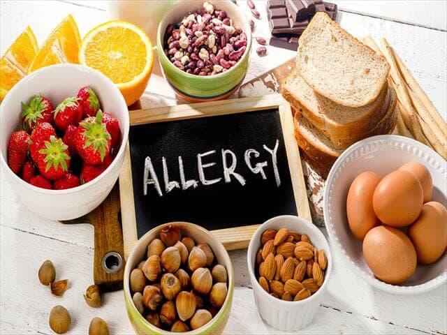 食物アレルギーのイメージ