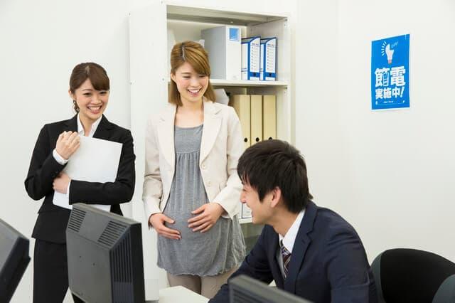妊婦さんの仕事