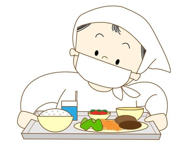 給食のおばさん