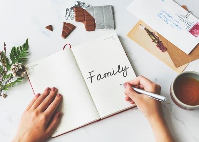育児日記をつける
