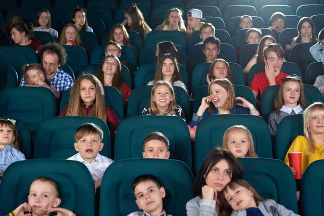子どもの観客