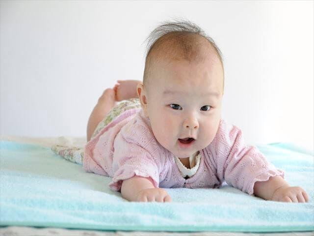 赤ちゃんのハゲの原因