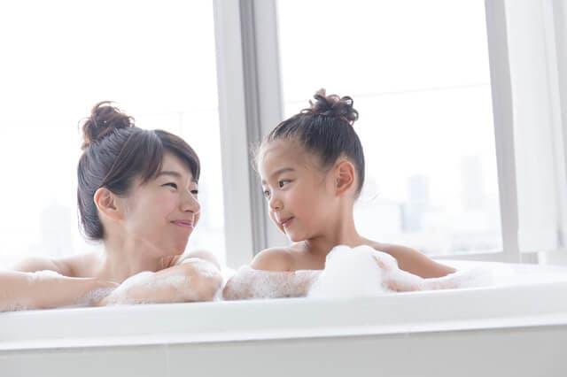 泡のお風呂