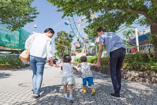 子どもと遊園地