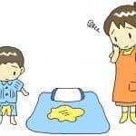 おねしょ対策してる?おねしょシーツの選び方と洗濯の仕方