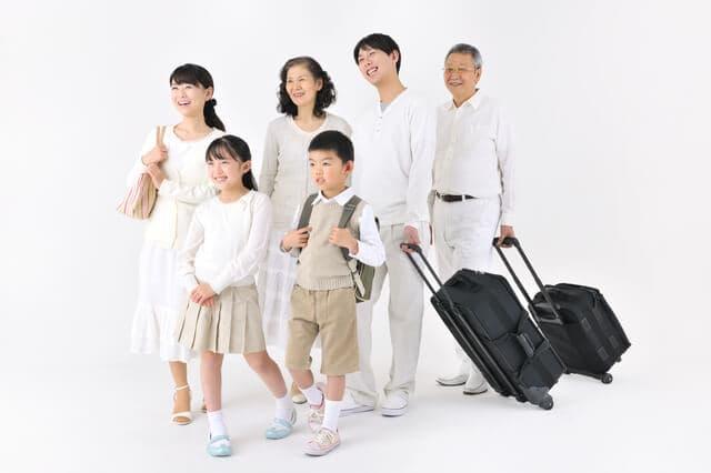 義父母と旅行