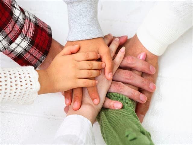 団結力のある家族