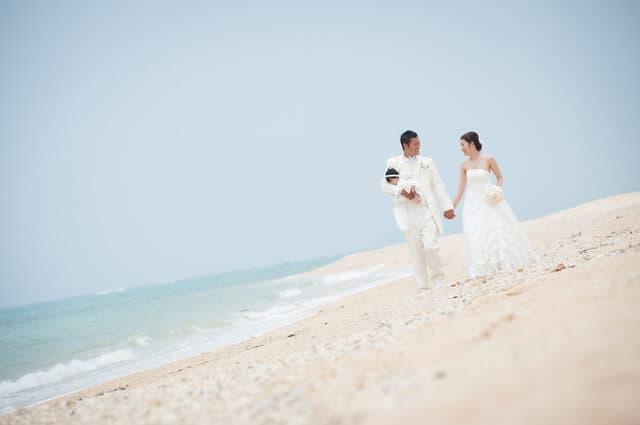 三人で結婚式